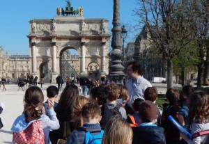 scolaire Paris Antiquité