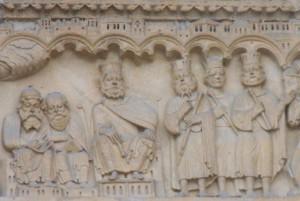 Portail sainte Anne Notre-Dame